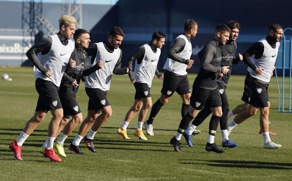 Málaga, plan de entrenamiento del 19 al 24 de enero