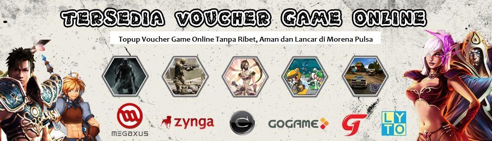 Voucher Game Online Murah Morena Pulsa