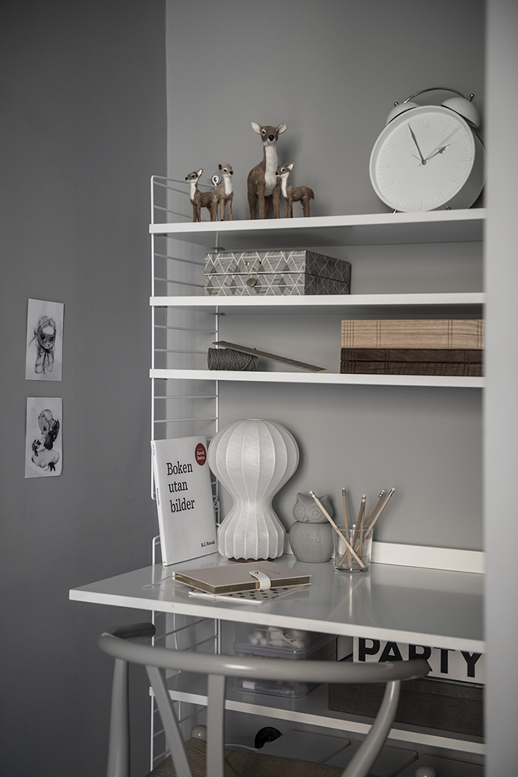 Scandinavian home office inspiration | Brspec