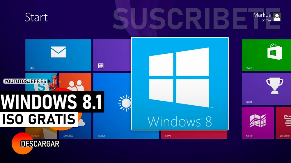 Como Descargar Windows 8.1 ISO GRATIS 32 Y 64 BITS