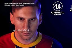PES 2022 Messi Start Screen For - PES 2017
