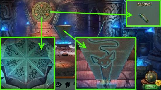 по результатам головоломки получим капсулу в игре наследие 3 дерево силы