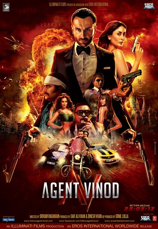 Agent Vinod 2012 Full Hindi Movie Download 450MB HDRip 480p
