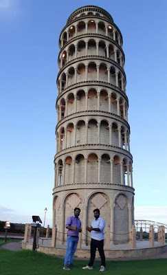 Leaning Tower of Pisa - Seven Wonders Park kota