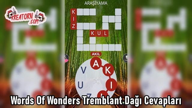 Words-Of-Wonders-Tremblant-Dagi-Cevaplari