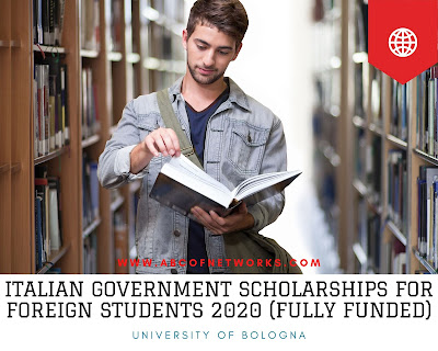 Italian Government Scholarships For Foreign Students 2020