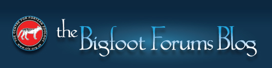 The Bigfoot Forums Blog