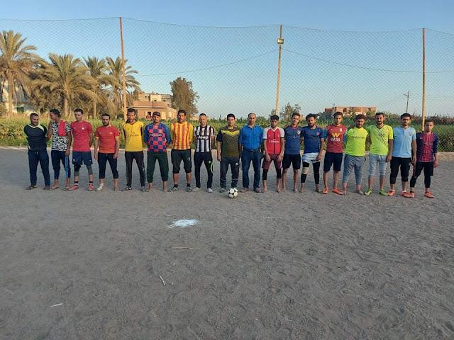 فوز فريق قرية منصور في مباراة أمس على فريق النظارة