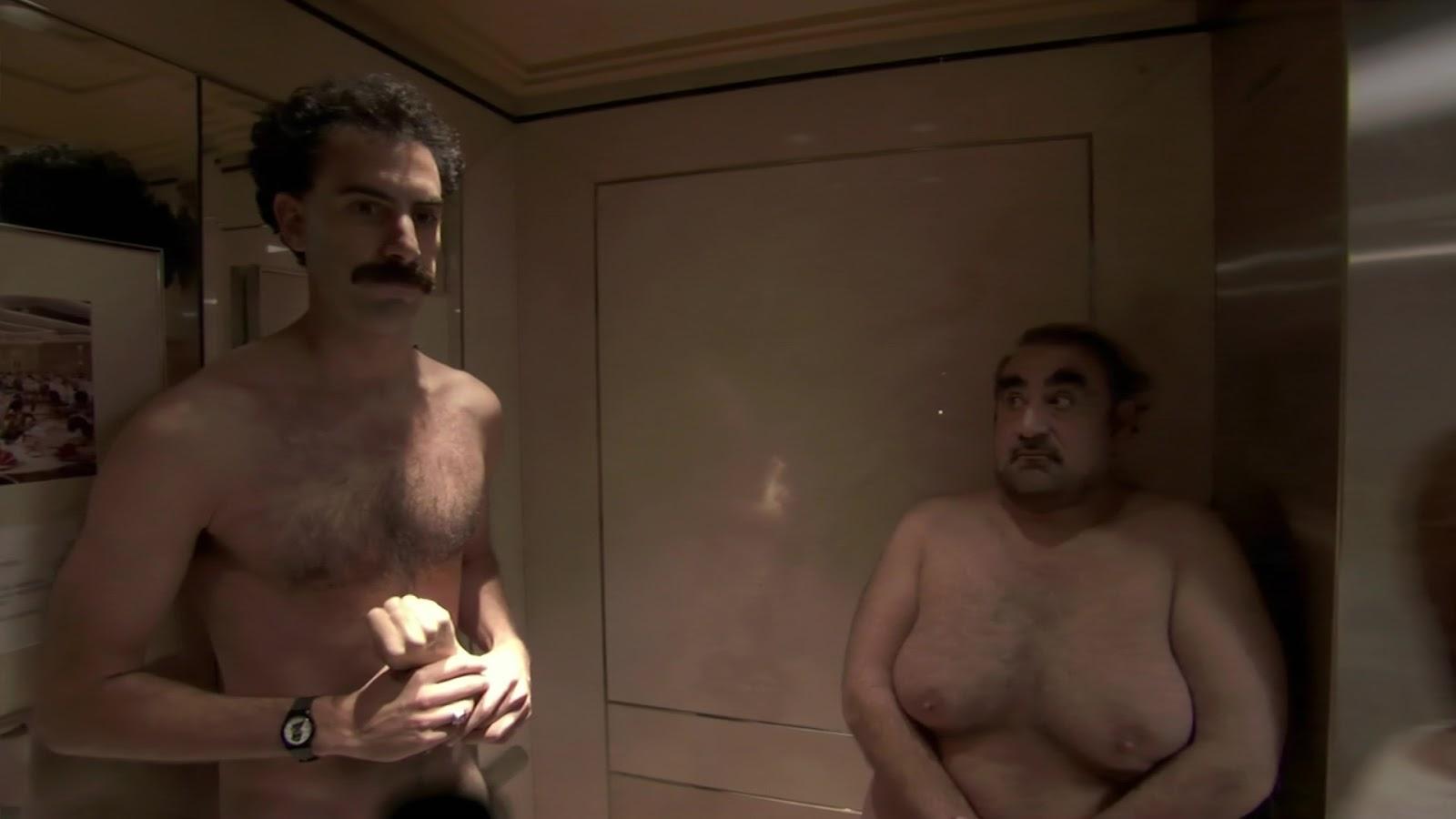 Also borat naked fight scene