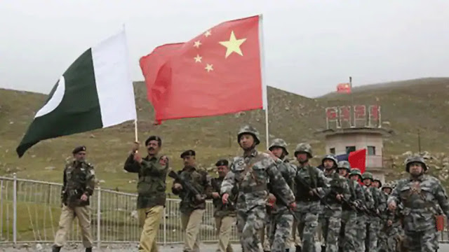 Pakistan-China army in Gilgit-Baltistan