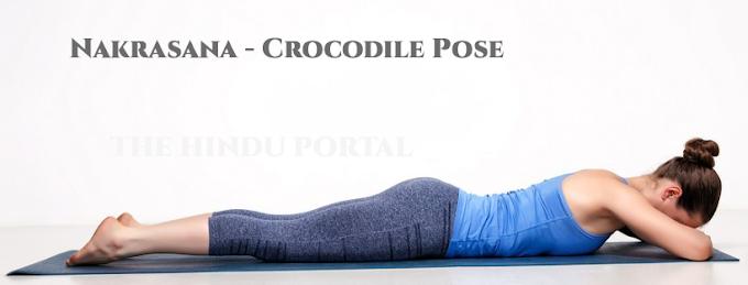 Nakrasana -  Crocodile Pose