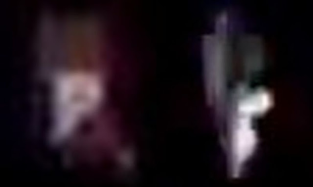 Strange space vehicles seem to appear out of flashes of light Alien-space-vehicles-ufo-iss%2B%25284%2529
