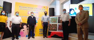-  from left to right  1.Yvonne Chew Ee Hong, Senior Manager, Duopharma Consumer Healthcare Sdn Bhd, Pengurus Kanan Pemasaran - Duopharma Consumer Healthcare Sdn Bhd 2.Shamsul Idham Ahad, Ketua Pegawai Eksekutif, Duopharma Consumer Healthcare Sdn. Bhd., Chief Executive Officer 3.Dato' Megat Ahmad Shahrani Megat Sharuddin, Presiden NASOM, President of NASOM 4.Yang Berhormat Tuan Khairy Jamaluddin Abu Bakar, Menteri Sains, Teknologi dan Inovasi Malaysia 5.Encik Leonard Ariff Abdul Shatar, Pengarah Urusan Kumpulan Duopharma Biotech Berhad, Group Managing Director of Duopharma Biotech Berhad  6.Encik Fernando Gongora, Ketua Jabatan Penjagaan Kesihatan Guardian Malaysia, Head of Health Care, Guardian Malaysia