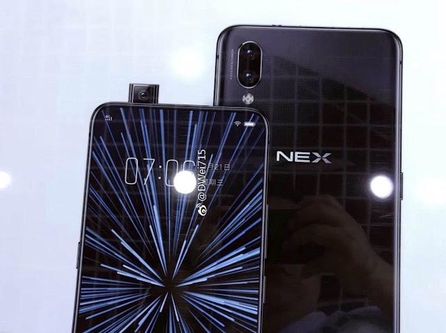 Vivo NEX S dengan Snapdragon 845 dan RAM 8 GB
