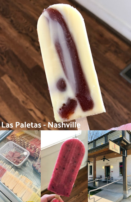 Las Paletas Popsicle Shop Nashville, Tennessee