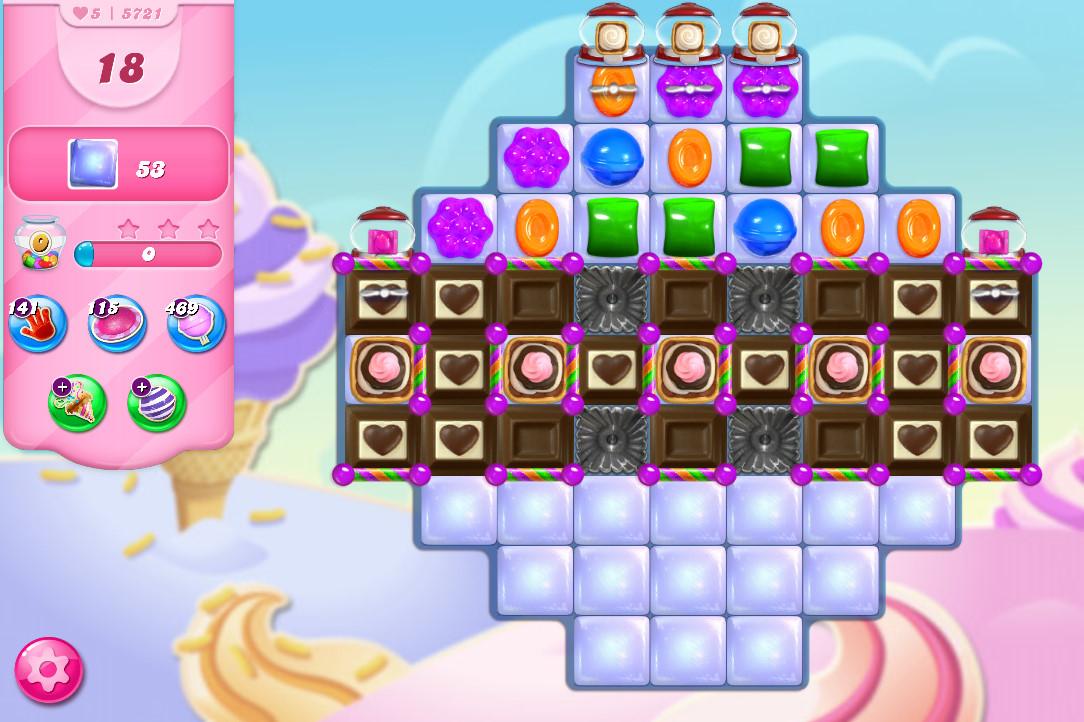 Candy Crush Saga level 5721