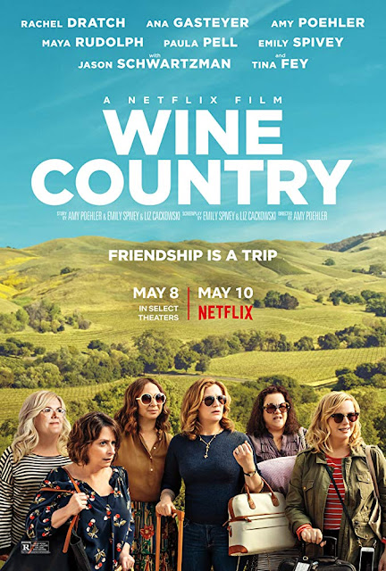 Wine Country 2019 Netflix movie poster