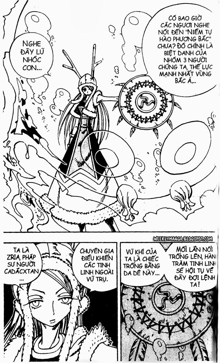 Shaman King [Vua pháp thuật] chap 127 trang 10
