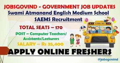 SAEMS Recruitment 2021