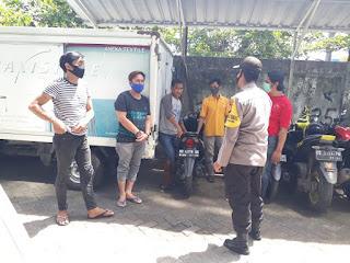 Tegakkan Disiplin Prokes, Polres Pelabuhan Makassar Terus Lakukan Operasi Yustisi