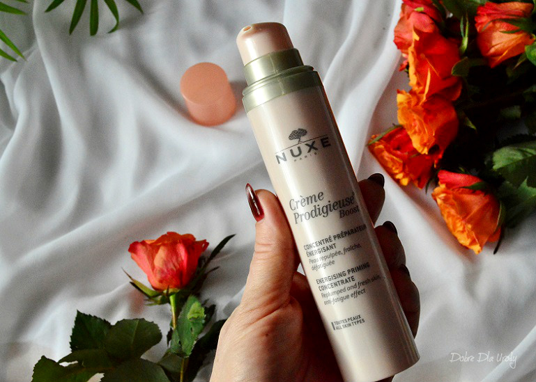 Nuxe Creme Prodigieuse Boost Koncentrat przygotowujący skórę i dodający energii recenzja