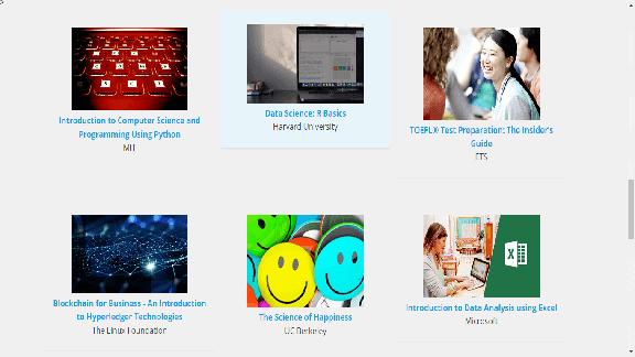 600 دورة مجانية على الانترنت مقدمة من افضل الجامعات في العالم.