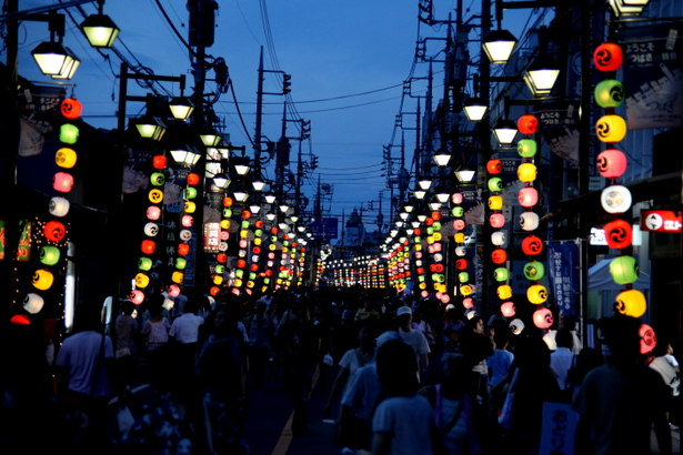 Million of Lantern Festival, Kawagoe, Saitama