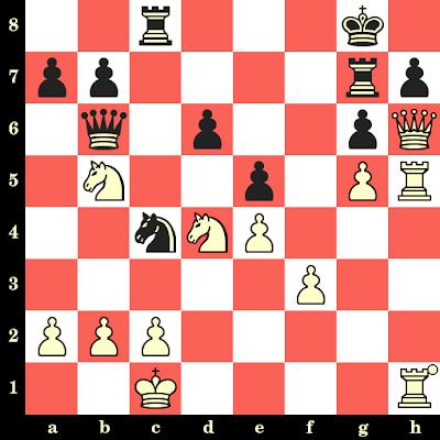 Les Blancs jouent et matent en 4 coups - Ugo Guerra vs Tobias Werther, San Benedetto del Tronto, 1989