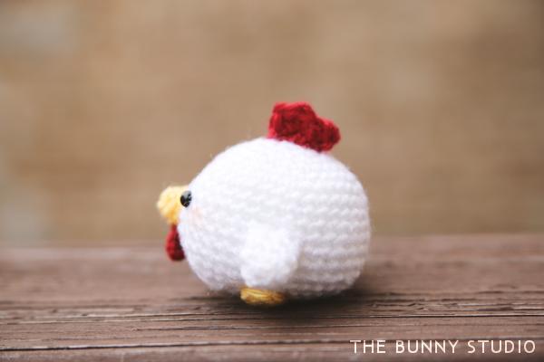 The Bunny Studio Free Crochet Pattern Rooster Amigurumi