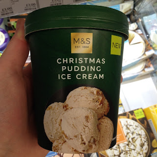M&S Christmas Pudding Ice Cream