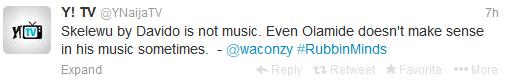 00 Waconzy insults Davido, Tonto Dikeh and Olamide. Davido responds