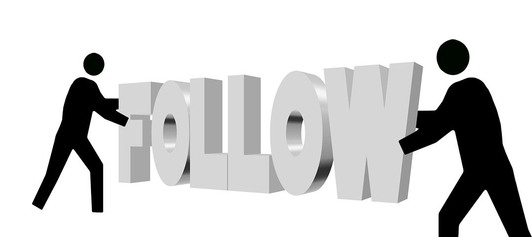Cara membuat tombol follow di blogger dengan mudah