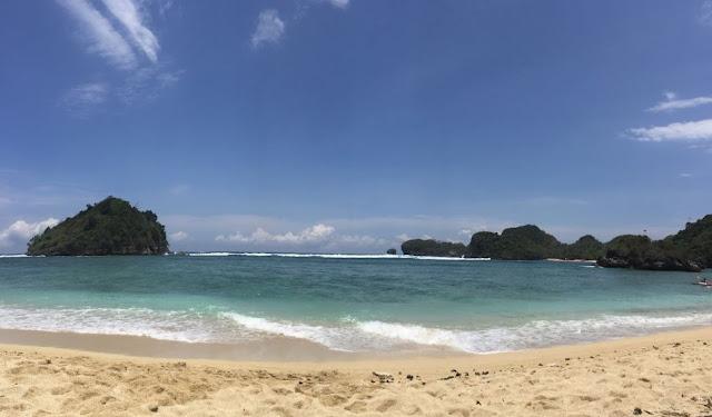 Akses lokasi pantai gatra, pantai gatra, pantai malang, malang raya, santuy times