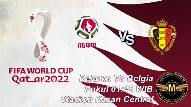 Prediksi Belarus Vs Belgia