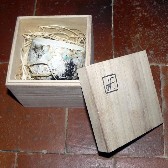 bol vendu avec sa boite en bois