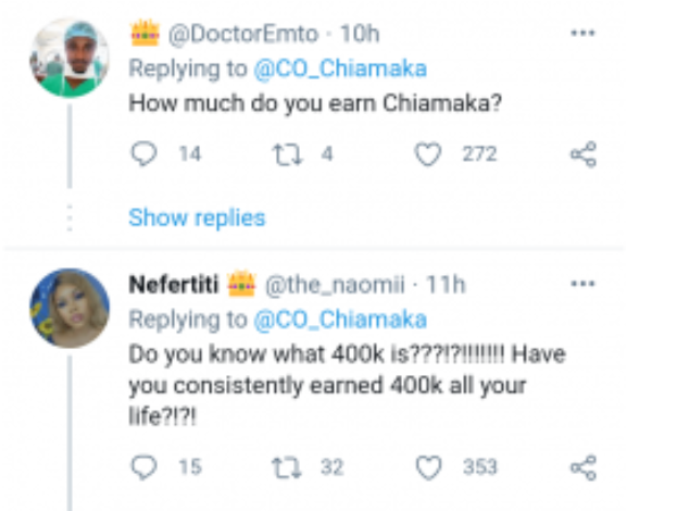 400k monthly salary cannot give you soft life in Lagos – Nigerian Lady claims