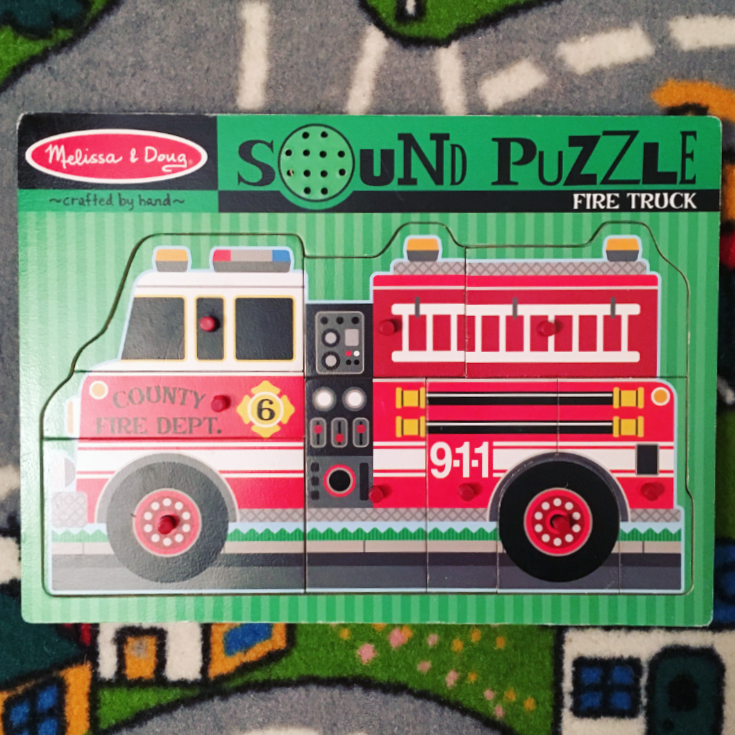 Melissa & Doug Fire Truck Sound Puzzle Review
