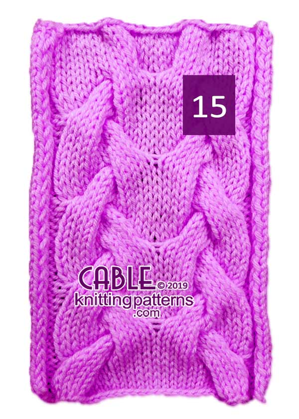 Cable Knitting Pattern 15