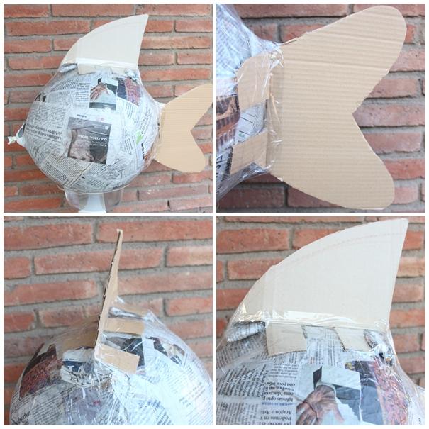 piñata papel periodico