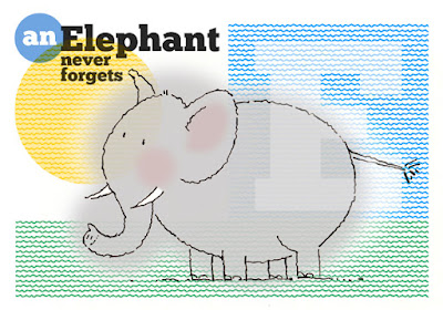Drawing: An Elephant Never Forgets