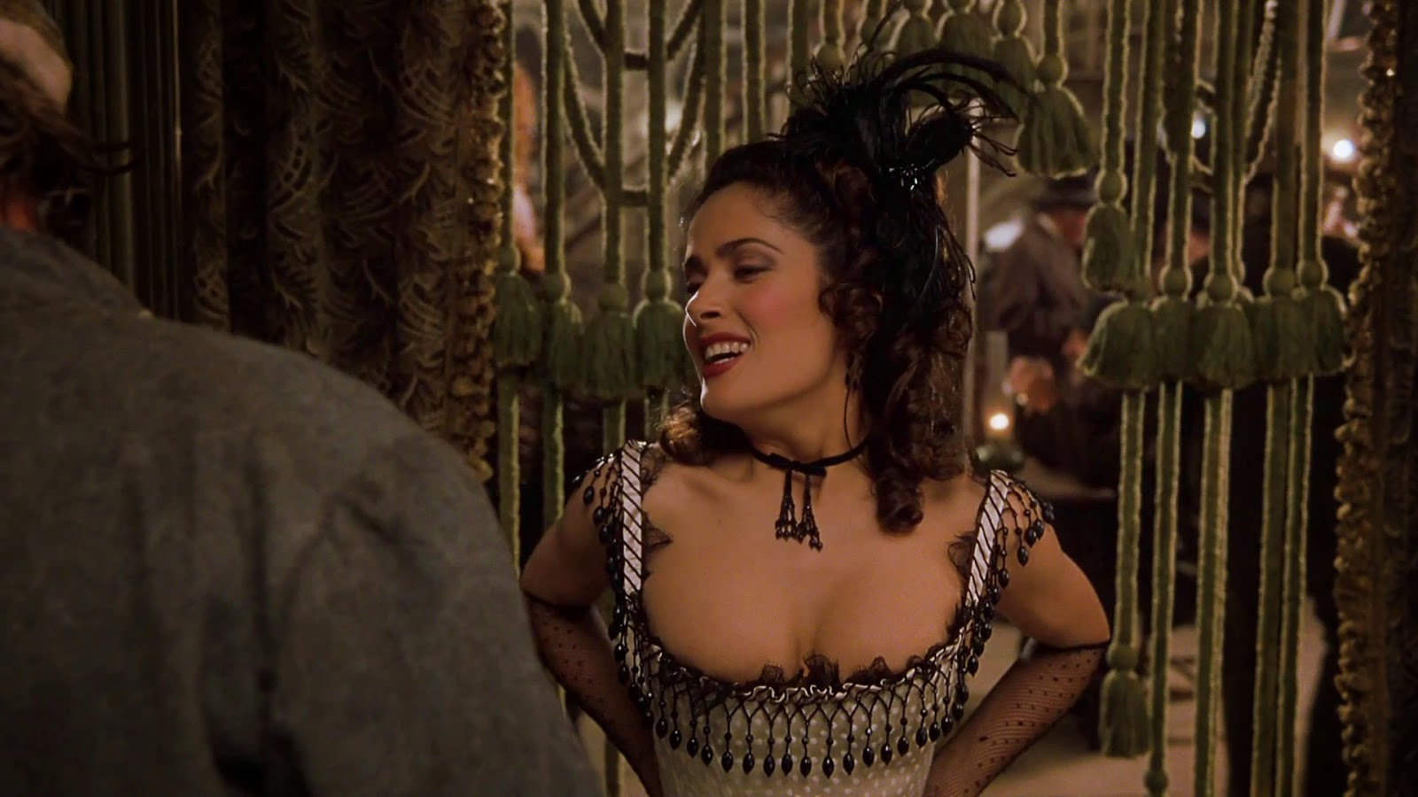 salma hayek naked or nude in movies