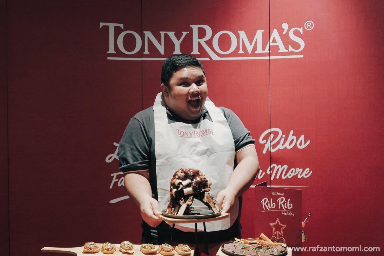 Nikmati Rib Rib Holiday Sempena Musim Cuti Ini Di Tony Roma's