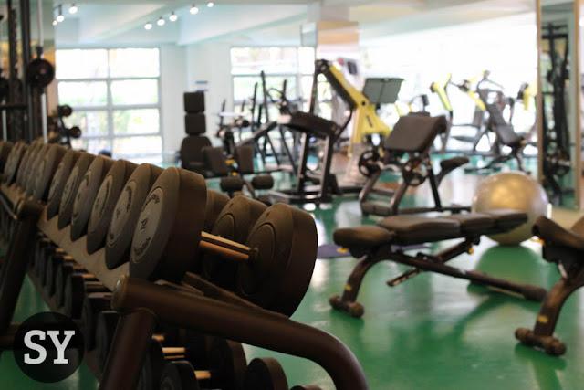 Modern gym equipment at the Zennith Wellness Gym
