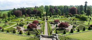 Drummond Castle Gardens, Perthshire, Scotland