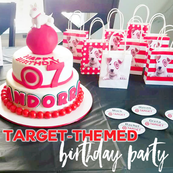Target-themed party