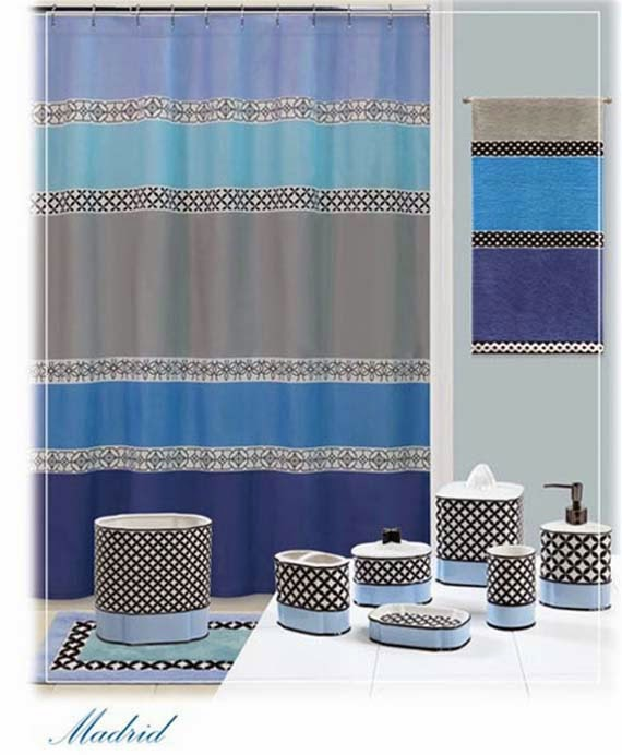 bathroom curtain sets photos
