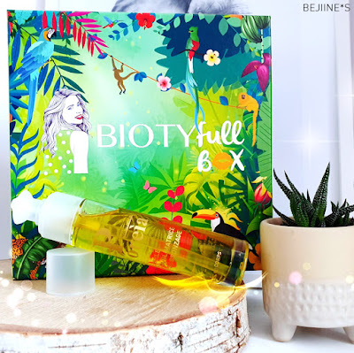 BIOTYfull Box d'Août 2019 : La Jungle Réparatrice