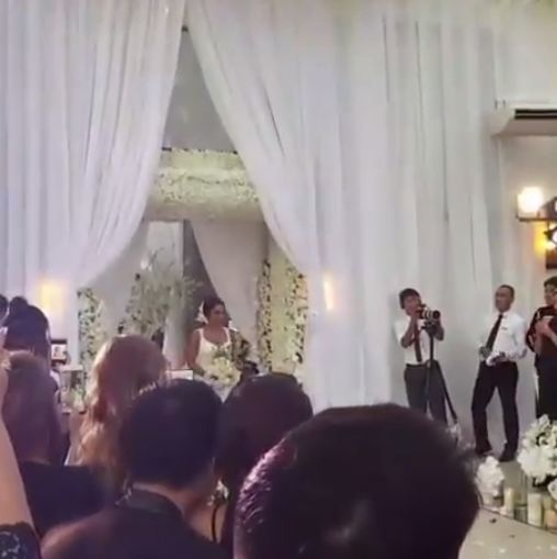 Rochelle Pangilinan Wore The Sexiest White Dress On Her Wedding Day!