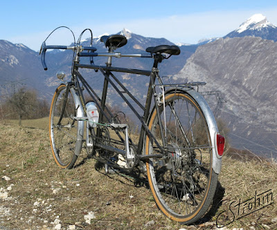 Routens tandem Chartreuse