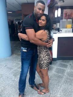 Pollard Hug His Wife Jenna